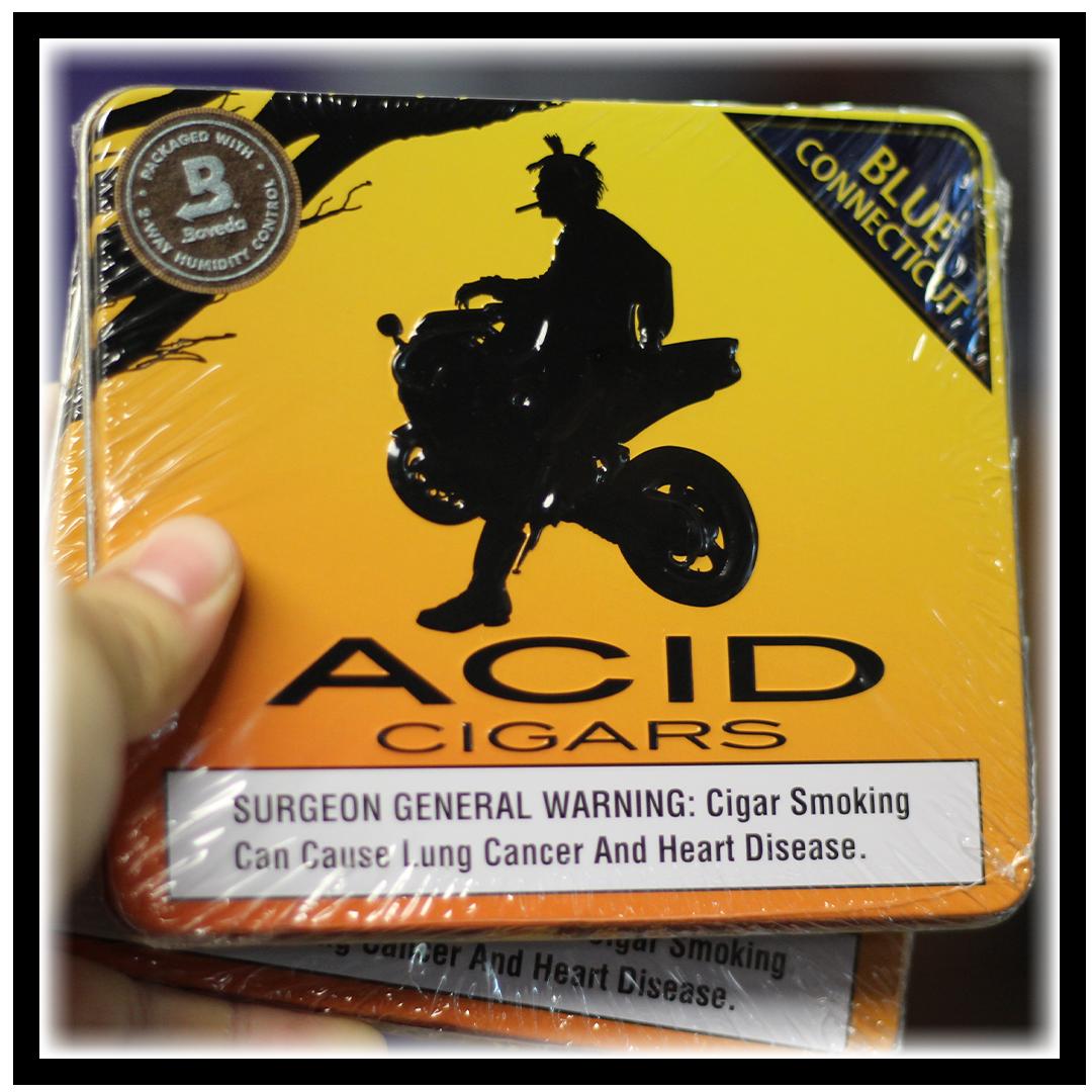 Acid Blue Connecticut Cigarillos
