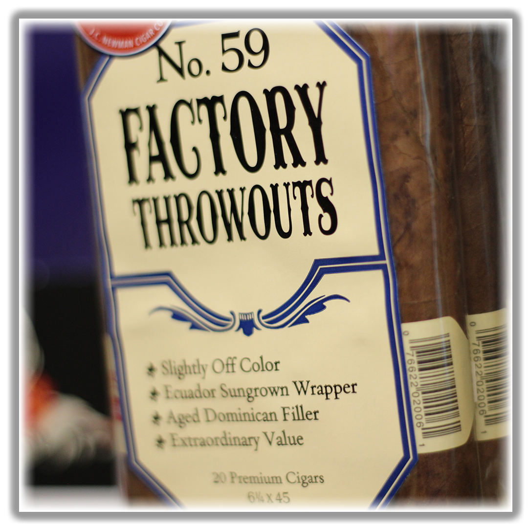 No. 59 Throwouts Sampler